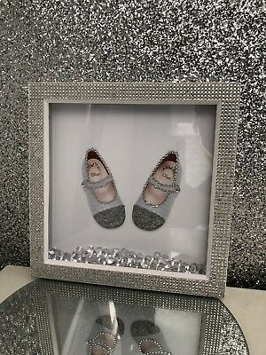 Baby Dior Shoes Picture frame for nursery