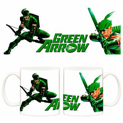 Taza Green Arrow comic