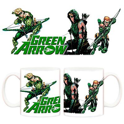 Taza Green Arrow comic DC personaje