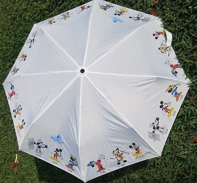 Disney Parks Mickey Through The Years Umbrella Sorcerer Steamboat WIllie New