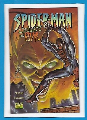 Spider-Man...legacy Of Evil_June 1996_Nm Minus_Green Goblin_Trade Paperback!