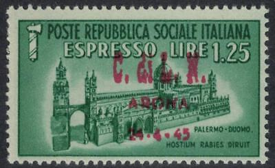 ITALY LOCAL ISSUES C.L.N. 1945 Arona Special Delivery L.1,25 MNH Signed / B22219