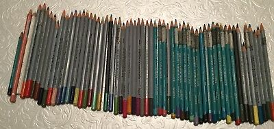 50 + Water Colour Pencils Mostly Derwent