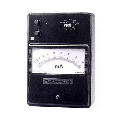Yokogawa 201601 High Frequency Ammeter, 5/10/20/50 mA; DC, 10 Hz to 5