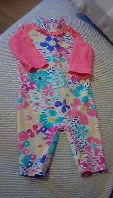 Baby Girls TU Swim Suit/Costume Age 18/24 Months