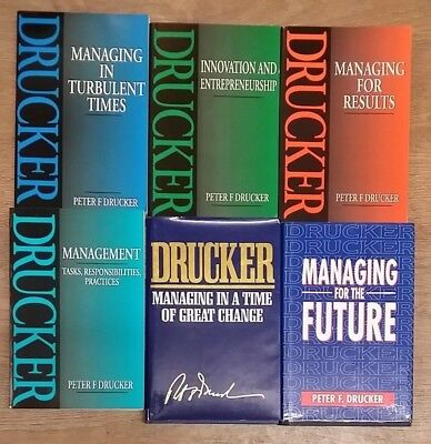 6 Management Books By Peter F Drucker Free Uk Post Pb Hb
