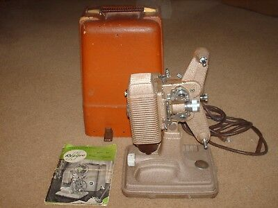 Vintage Revere 8mm Movie Projector Model 85 with Case