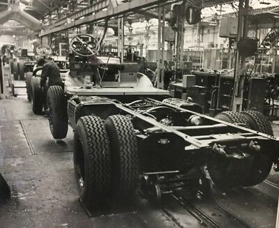 Rare Lot Photos 1960 Usine Camions Berliet !!!!