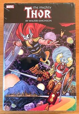 New Sealed Thor By Walter Simonson Omnibus 1192 Pages 2017 Edition Marvel Dc
