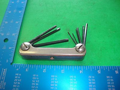 EKLIND Tool Co. Chicago, USA No. 91-S  Hex Key Set