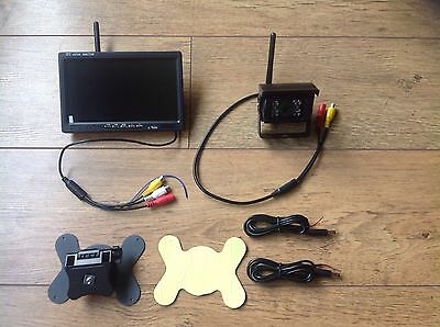 Wireless Reversing Camera Kit for  Tractor Van Trailer Baler Self Propelled