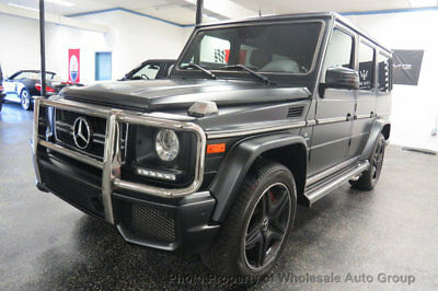 Mercedes-Benz G-Class 4MATIC 4dr AMG G 63 ONE OWNER CARFAX CERTIFIED . FULLY LOADED.  BEST COLOR. FACTORY WARRANTY