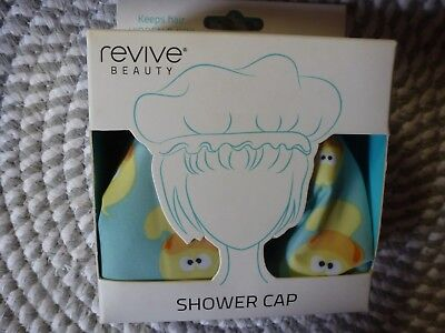 Revive Beauty~~Waterproof Nylon Shower Cap~~For Hair While Showering Or Bathing