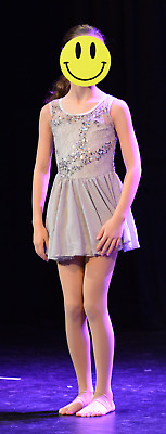 """Girls dance costume for Contemporary, size IC """"LISTEN"""""""