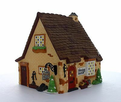 """Department 56 Dickens Village """"Wrenbury Baker"""" Co Heritage Collection NEW in box"""