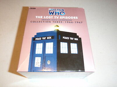 Doctor Who The Lost Tv Episodes Vol 3 Set Audio Stories By Bbc On Cd