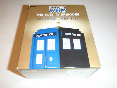 Doctor Who The Lost Tv Episodes Vol 4 Set Audio Stories By Bbc On Cd