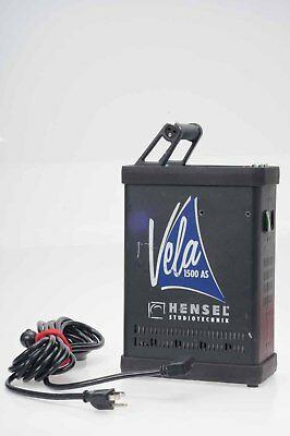 Hensel Vela AS 1500 W/s Flash Generator Power Pack                          #085