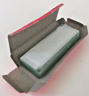 AmScope Microscope Slides Single Depression Concave Pack of 10 in Open Box