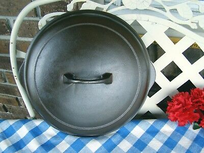 Griswold #8 High Dome Small Logo Cast Iron Skillet Lid / Cover – #1098