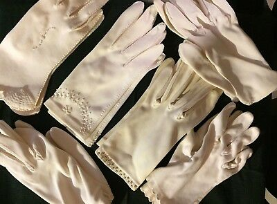 Lot of 9 pairs Vintage Gloves