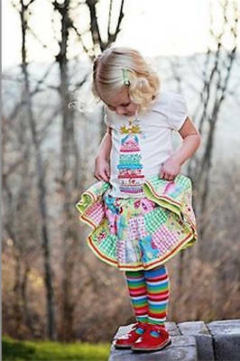 NWT Oilily Gnome Patchwork Skirt & Matching T-Shirt  Size: 2Y;