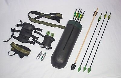 CW Green Arrow Cosplay Set (Quiver, Holsters, Gadgets, etc) Oliver Queen Costume