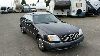 1994 Mercedes-Benz 500-Series  1994 Mercedes S500 Sedan