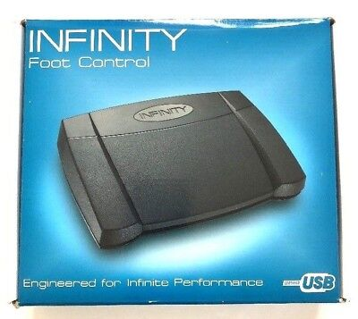 INFINITY Foot Control Pedal Version 14 IN-USB-2 Infinite Performance NEW (C8)