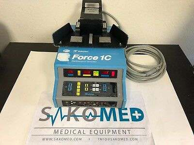 ValleyLab Force 1C Electrosurgical Unit with E6008 Foot Pedal