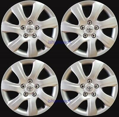 "New Set (4pcs) 16"" Hubcap Rim Wheel Cover fits 2006-2017 Toyota Camry Camery"