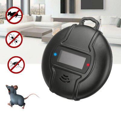 Solar Electronic Ultrasonic Anti Pest Cockroach Mosquito Mouse Killer Repeller