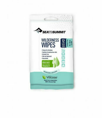Sea To Summit Wilderness Wipes for Hiking, Camping, Outdoors (Choose Pack Size)
