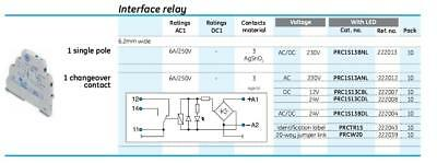 General Electric GE Interface Relay PRC1S13ANL x 28