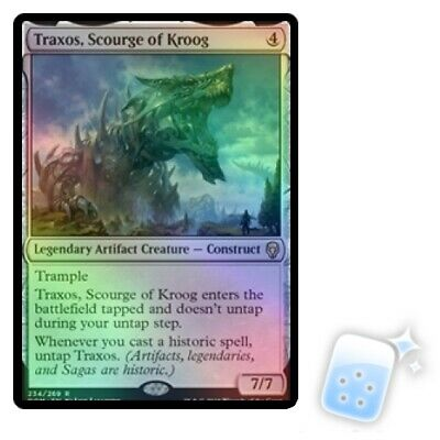 FOIL TRAXOS, SCOURGE OF KROOG Dominaria DOM Magic MTG MINT CARD