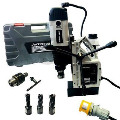 Jefferson Tools 110V Industruial 1500W 40mm Electro Magnetic Mag Drill