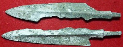 2 Bronze Age Spearheads