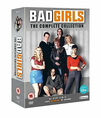 Bad Girls The Complete Series 1, 2, 3, 4, 5, 6, 7 & 8 DVD Box Set R4 New Sealed