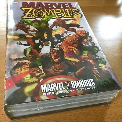 New Sealed Marvel Zombies Omnibus (Zomnibus) By Robert Kirkman Sean Phillips Dc