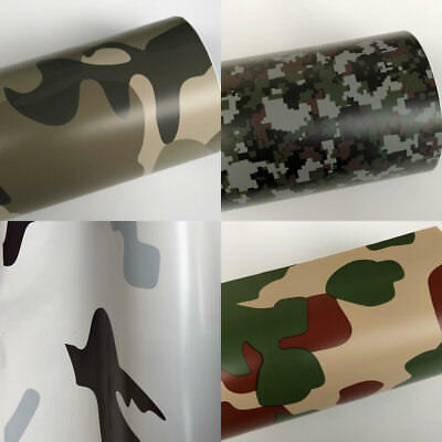 Camouflage/Camo Vinyl Wrap Sticker (Air/Bubble Free) Multi sizes