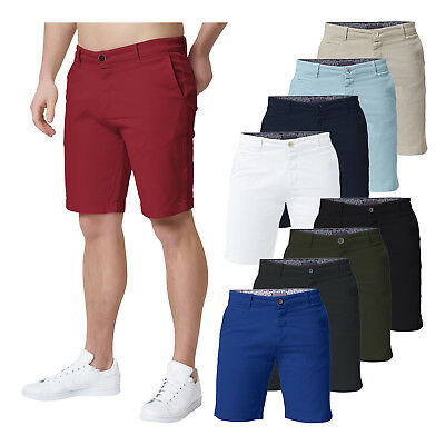 Heredot Herren Chino Short kurze Hose Bermuda Sommer Outdoor Baumwolle stretch