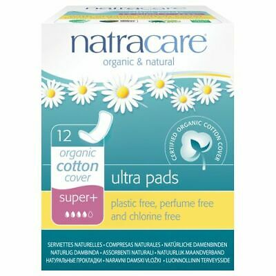 Pads Super Ultra Plus 12 CT by Natracare