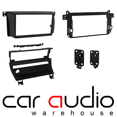CT23BM11L BMW 3 Series E46 LHD Double Din Car Stereo Fascia Adaptor Relocation