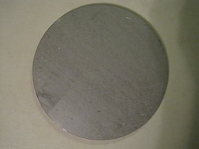 """3/16"""" Steel Plate, Disc Shaped, 6-3/8"""" Diameter, .1875 A36 Steel, Round, Circle"""