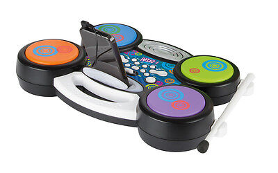 Toyrific Light & Sound Electronic Plug & Play Mp3 Ipod I- Drum Drums Kit Set Toy