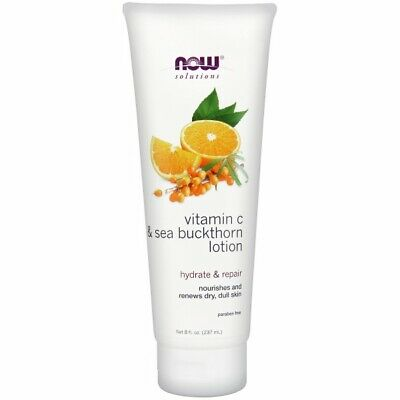 Vitamin C and Sea Buckthorn Lotion 8 oz by Now Foods