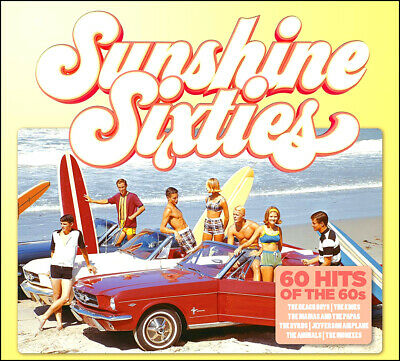 60 Greatest Hits of the 60's * New Sealed 3-CD Boxset  * All Original Hits