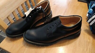 Mens Modern Solovair 1462 Lace Up Round Toe Shoes Size Uk 9 Eur 43 Bnwts ,2 Of 4