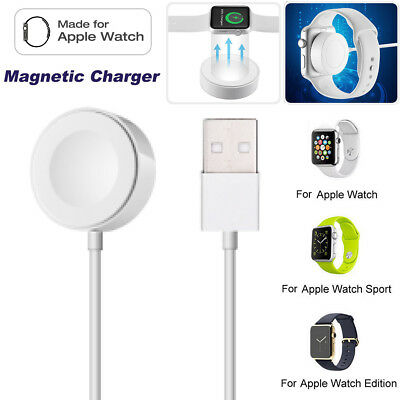 2M Magnetic Charging Cable Dock Charger For 38/42mm Apple Watch iWatch 1 2 3