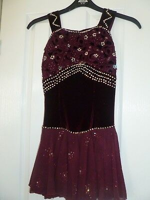 Ladies Ice skating/baton twirling dress